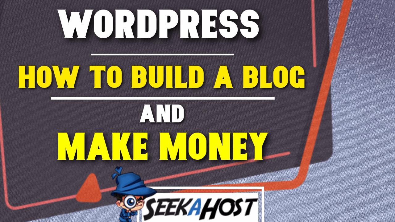 make money from blogging