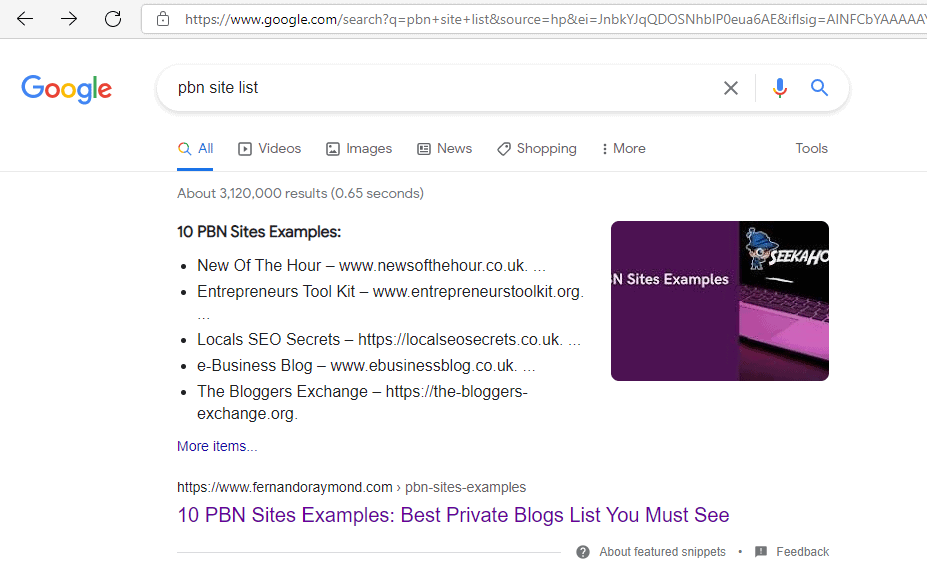 list-of-PBN-sites-examples