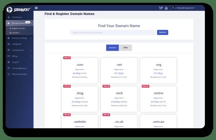 Fast-Domain-Registration
