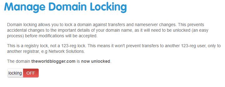 host a 123 reg domain