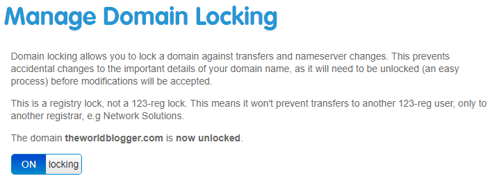 Host 123 reg domain