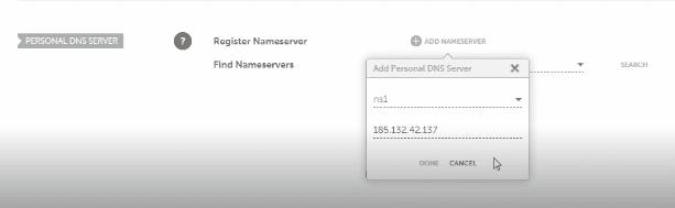 change Namecheap nameservers for hosting