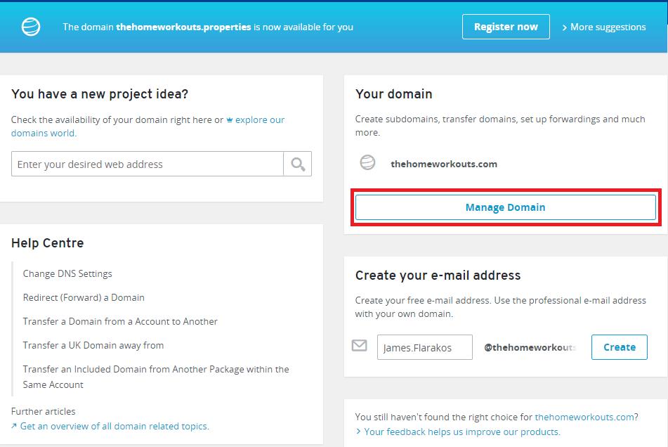ionos domain hosting alternative uk