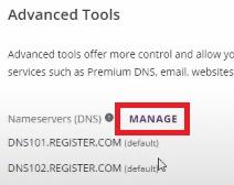 register.com nameservers
