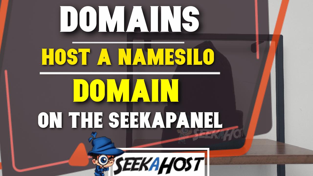 host a namesilo domain